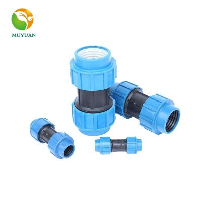 HDPE pipe compression connector